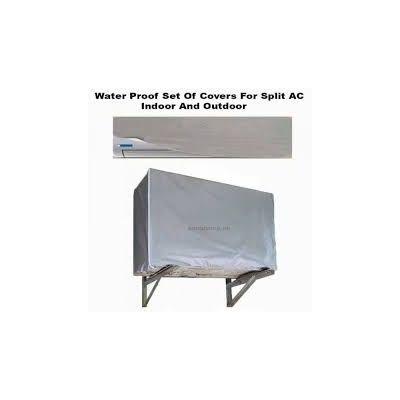 Split A/C  Water Proof Covers Set (Indoor And Outdoor)