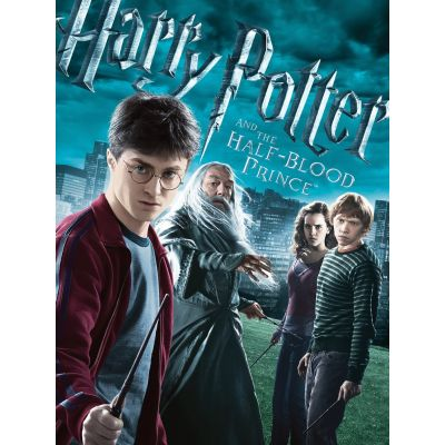 Harry Potter and the Half Blood Prince 2009 - Movie DVD 1080p in Hindi And English Dual Audio - Harry Potter Movie # 6
