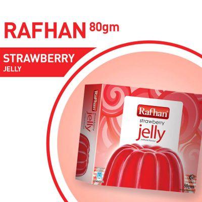 Rafhan Strawberry Jelly Mix 80gm