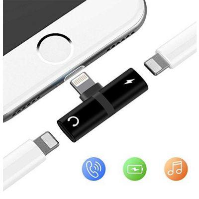 2 in 1 Lightning Splitter for iPhone 7, 8, 8 Plus