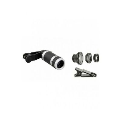 Pack of 2  8X Zoom Mobile Camera Lens With 3 in 1 Mobile Lens
