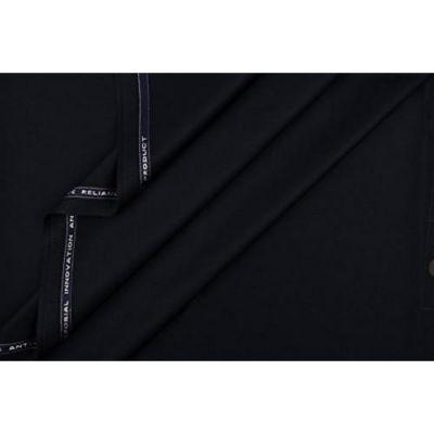 Black Shalwar Kameez Unstitched Fabric For Him