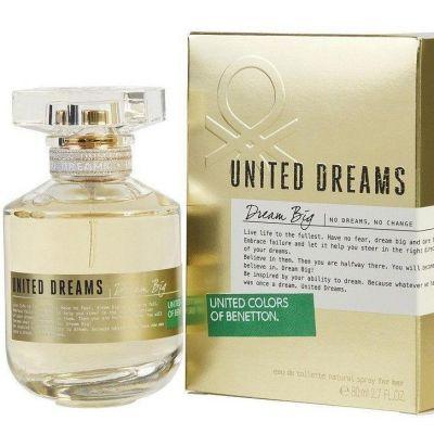 Benetton Dream Big Women Edt Spray