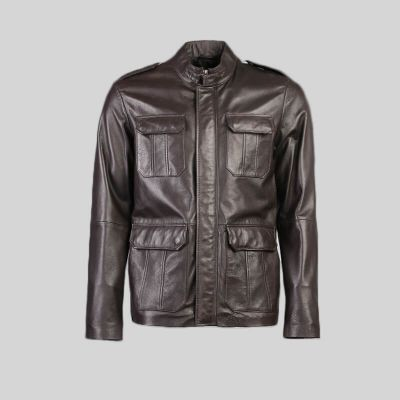 Mens Leather Jacket (1433)