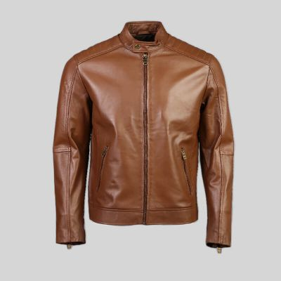 Mens Leather Jacket (1468)