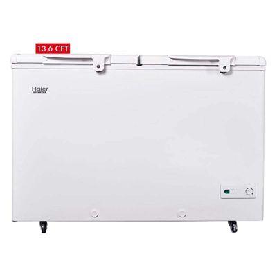 Haier 385 Liters Double Door Deep Freezer HDF-385I Inverter