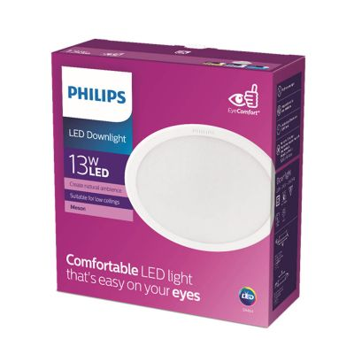 Philips Lights Meson 13W 65K Wh Recessed Led