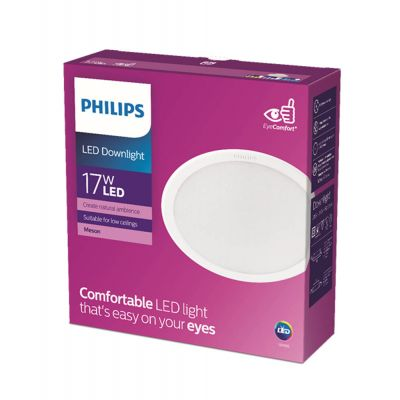 Philips Lights Meson 17W 65K Wh Recessed Led