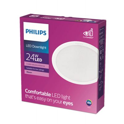Philips Lights Meson  24W 40K Wh Recessed Led