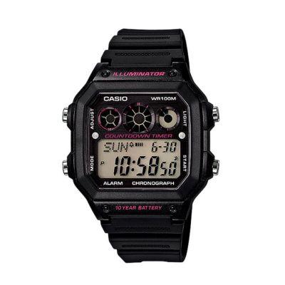 Casio Mens Watch  AE-1300WH-1A2VDF