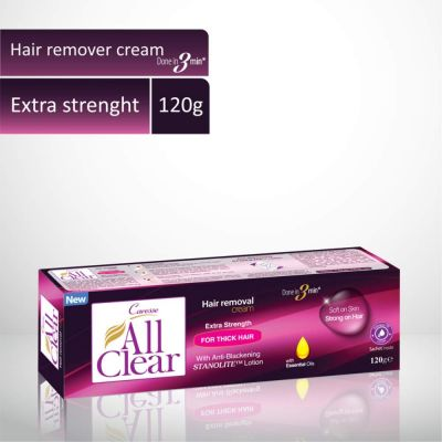 All Clear Hair Remover Cream Extra Strength 120gm