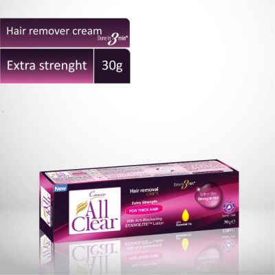 All Clear Hair Remover Cream Extra Strength 30gm