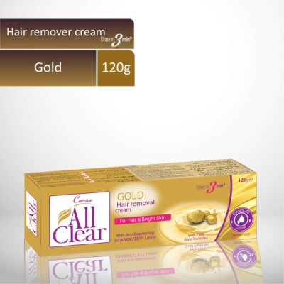 All Clear Hair Remover Cream Gold 120gm