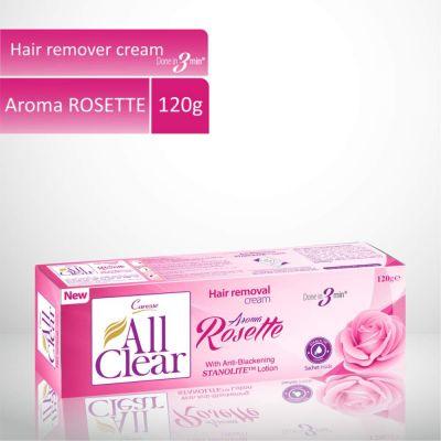 All Clear Hair Remover Cream Rosette 120gm