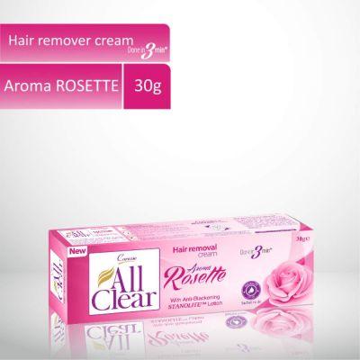 All Clear Hair Remover Cream Rosette 30gm