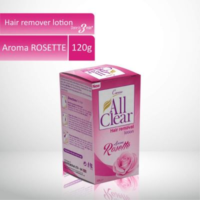 All Clear Hair Remover Lotion Large Rosette 120gm