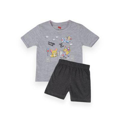 AllureP T-Shirt HS Grey Animals CH Shorts