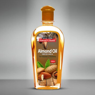 Saeed Ghani Non Sticky Almond Oil 200ml