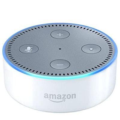 Amazon Speaker Echo Dot 2Nd Gen (Black, White)