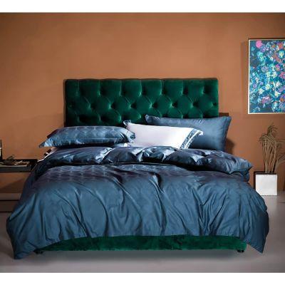 Bedding Set Fancy 4 Pcs Macchiato Irene-Navy