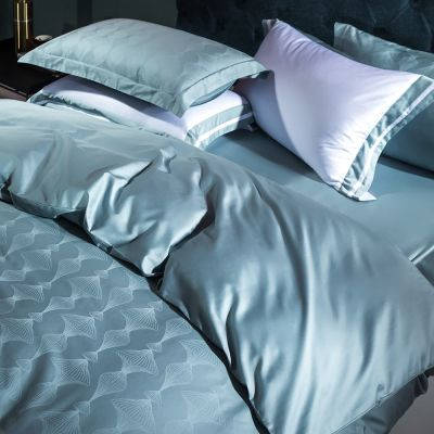 Bedding Set Fancy 4 Pcs Macchiato Irene-Aqua
