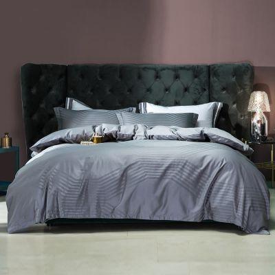 Bedding Set Fancy 4 Pcs Macchiato Lowland-Silver Grey
