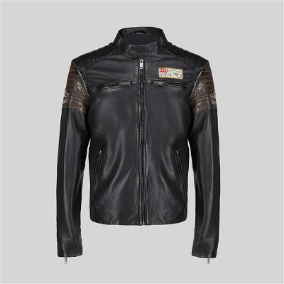 Mens Leather Jacket (1407)