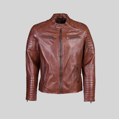 Mens Leather Jacket (1428)