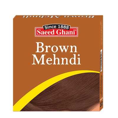 Saeed Ghani Brown Mehndi 10gm