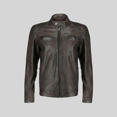 Mens Leather Jacket (1412)