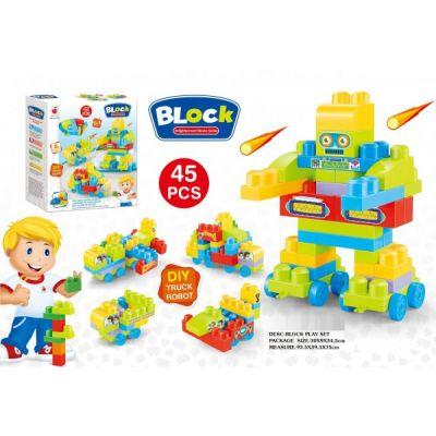 Building Block Entertainment Series 45 Pcs 5 In 1