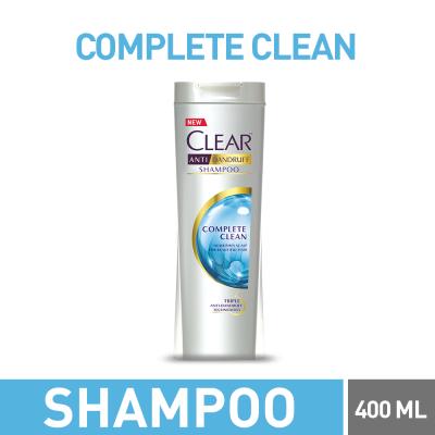 Clear Complete Clean Shampoo 400ml