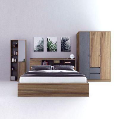 Bedroom set with wardrobe