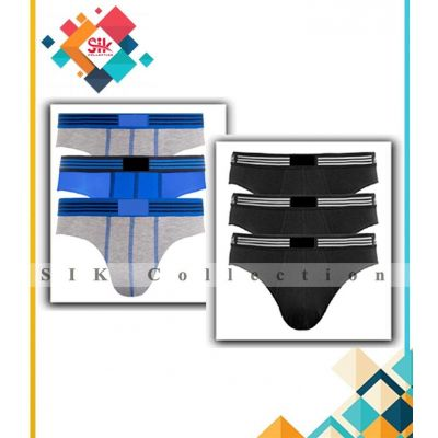 Pack Of 3  Imported Single Jersey Underwear For Men