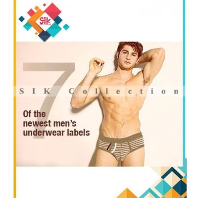 Pack of 5  Imported Stripe Underwear For Men online in Pakistan