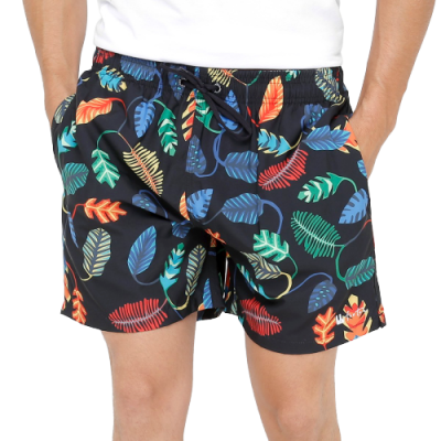 Pack of 5 Printed Beach Shorts For Men