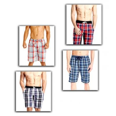 Pack of 4 Beach Printed Shorts For Men