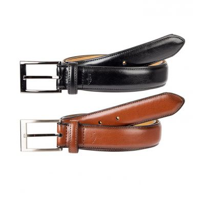 Pack of 2  Imported Leather Belt For Men