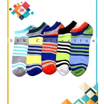 Pack Of 12  Imported Printed Fancy Ankle Socks For Men