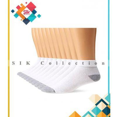 Pack of 12  Soft Ankle Socks For Men