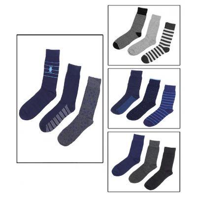 Pack of 09 Best Quality Cotton Dress Socks For Men online in Pakistan