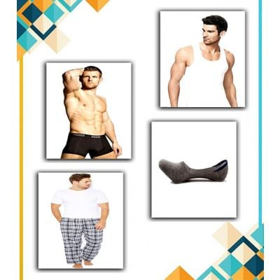 Combo Super Deal  Vest + Boxer + Pajama + Low Cut Sock For Men