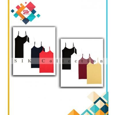 Pack of 3 Imported Top Tank For Women