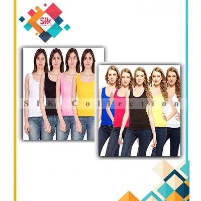 Pack Of 6 Tank Tops For Women