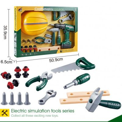 Craftsman Electric Simulation Toolbox Series  For Kids