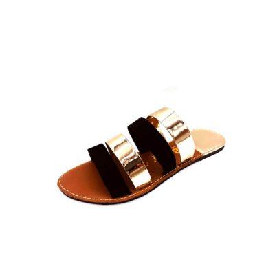 Women's Flat Velvet Slippers -6499