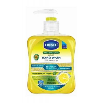 FRESCO Anti- Bacterial Hand Wash 500 ML Lemon