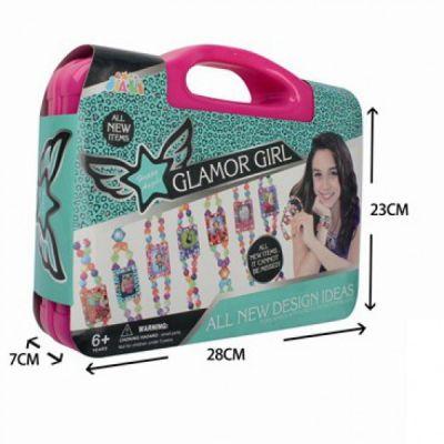 Happy Angels Glamor Girl Jewellry Diy Photo Frame Pink Box