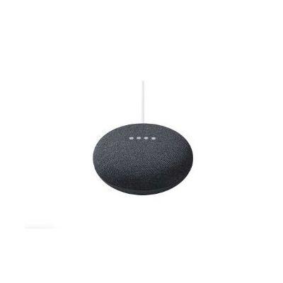 Google Nest Mini 2nd Generation  Speaker (Chalk  Charcoal  Coral)