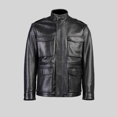 Mens Leather Jacket (1456)